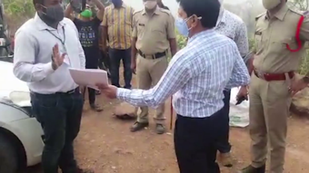 AP officers claim Kotia as theirs, spar with Odisha magistrate