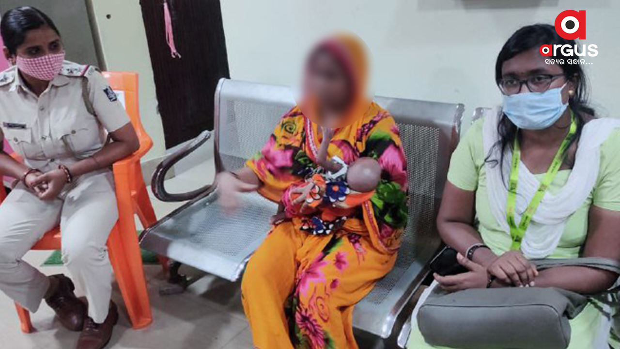Sold baby rescued from Malisahi in Bhubaneswar