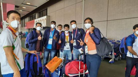88 member Indian contingent including 54 athletes arrives in Tokyo ahead of Olympics