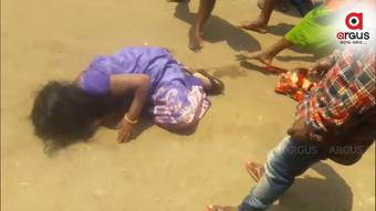 Odisha: Kotia woman beaten mercilessly, video goes viral