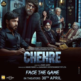 Big B's 'Chehre', co-starring Rhea Chakraborty and Emraan Haashmi on Apr 30
