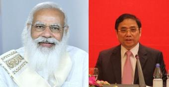 India and Vietnam review relations as Modi wishes Vietnam's new PM