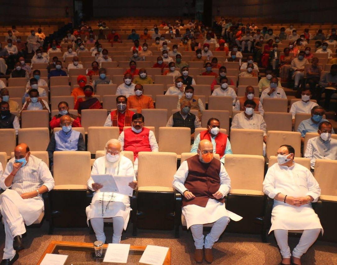 Oppn spreading lies about Covid and shortage of vaccine: PM