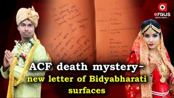 ACF Death Mystery: Bidyabharati's new letter unearths 'extreme hatred'