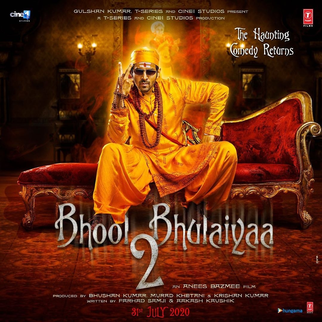 'Bhool Bhulaiyaa 2' in theatres on November 19