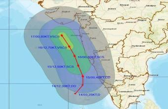 Cyclone Tauktae to lash Guj, Maha, Kerala coasts in 96 hrs