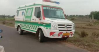 Elderly man killed after being hit by 108 ambulance in Puri