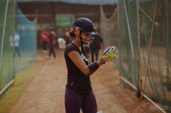 Taapsee Pannu posts 'pitch set' picture of 'Shabaash Mithu'