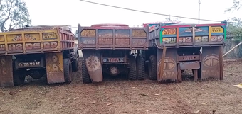5 dumpers carrying illegal iron-ore seized in Keonjhar