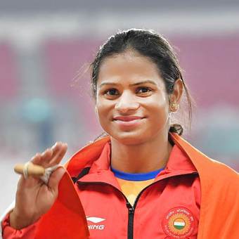 CM congratulates Dutee on winning 100m race at Indian Grand Prix