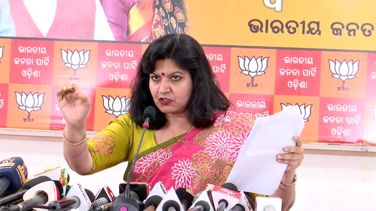 Aparajita puts 5 posers on monument issues, asks Odisha Govt to reply