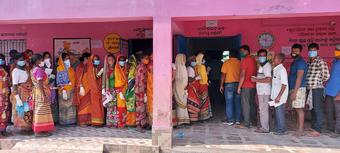 70.45 percent voters turn out to cast ballots in Balasore, Tirtol by-polls