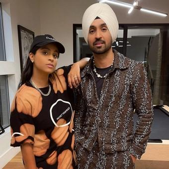Diljit Dosanjh shares appreciation post for Lily Singh