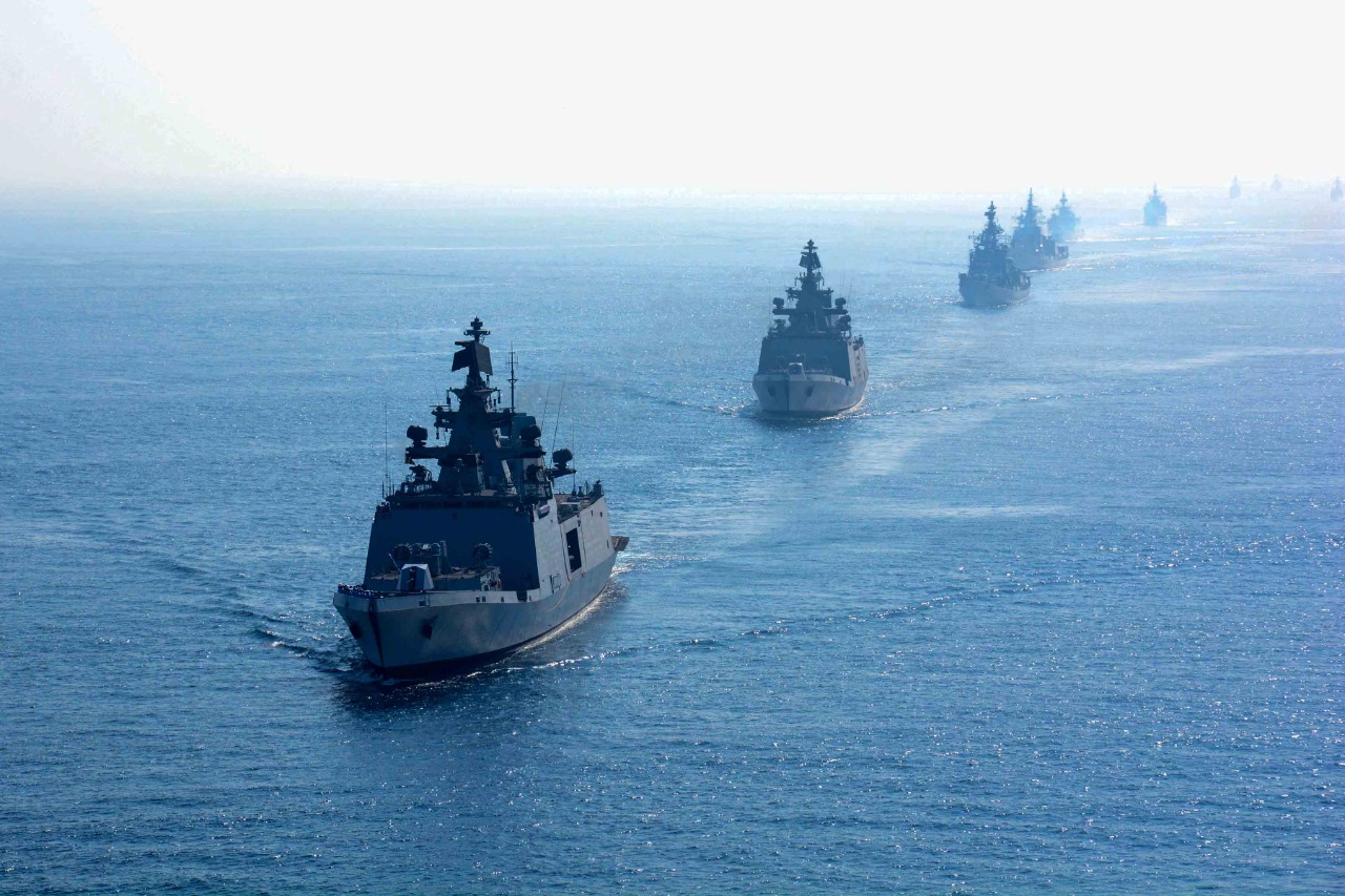 Navy's combat-readiness exercise Tropex-21 underway in IOR