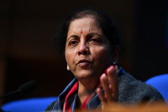 Benefiting poor not some 'Damaad': Sitharaman's jibe on Cong