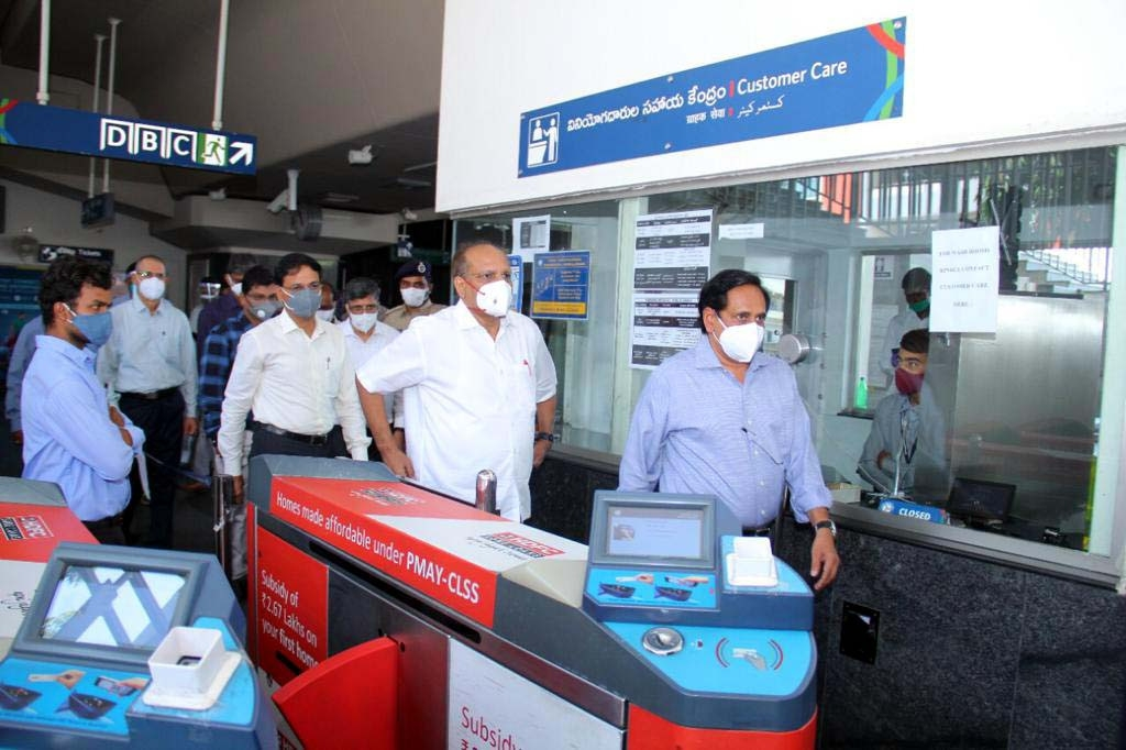 Hyderabad Metro to run till 2 p.m. from Tuesday