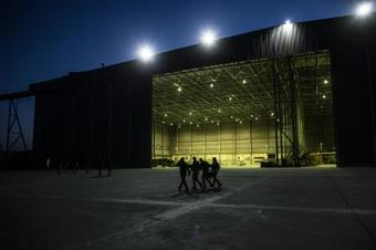 Drone attack on military base at Baghdad airport
