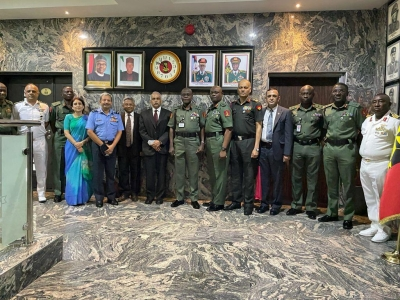 Indian defence delegation in Nigeria to enhance military cooperation