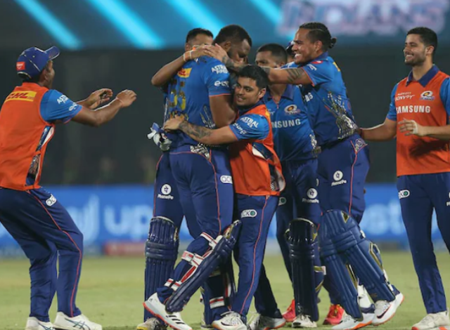 IPL 2021: Pollard's blistering knock helps MI win over CSK
