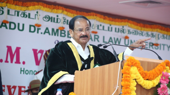 Make judicial system accessible, affordable and understandable to the common man: Vice President