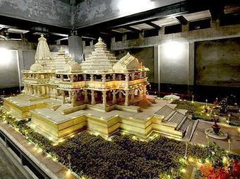 Nine 'Shilas' installed at foundation of Ram temple
