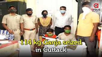 114 kg ganja seized in Cuttack; 2 held