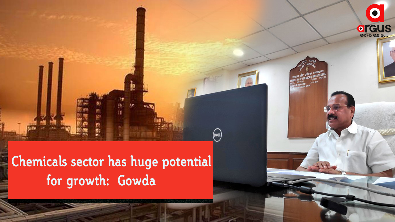 Chemicals sector has huge potential for growth: Gowda