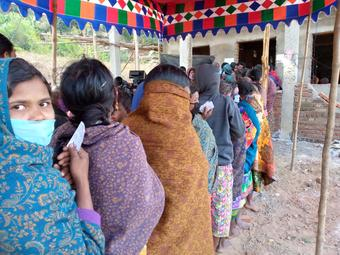 Andhra Pradesh conducts Panchayat polls in Odisha territory