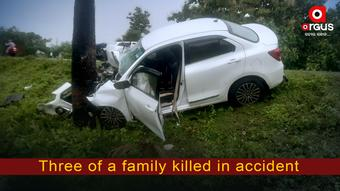 Odisha: Woman, two daughters killed in road accident; husband critical