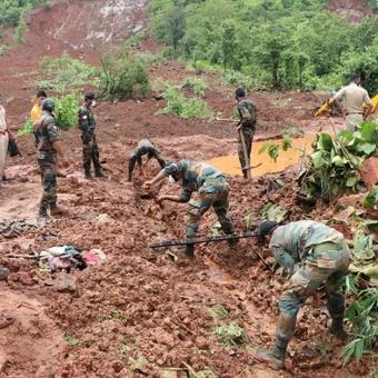 Armed forces increase deployment for relief ops in Maha, K'taka, Goa