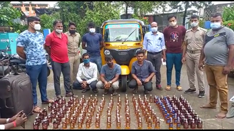 30 litres of spurious liquor seized, 3 arrested in Bhadrak