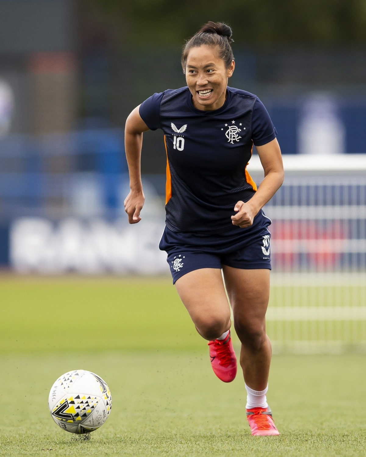 Playing at Rangers 'a whole new experience', says Bala Devi